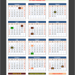 UK Holidays Calendar 2015