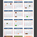 UK Public Holidays Calendar 2016
